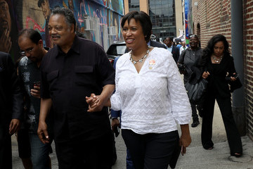 Muriel Bowser Washington, DC Institution Ben's Chili Bowl Holds 60th Anniversary Party