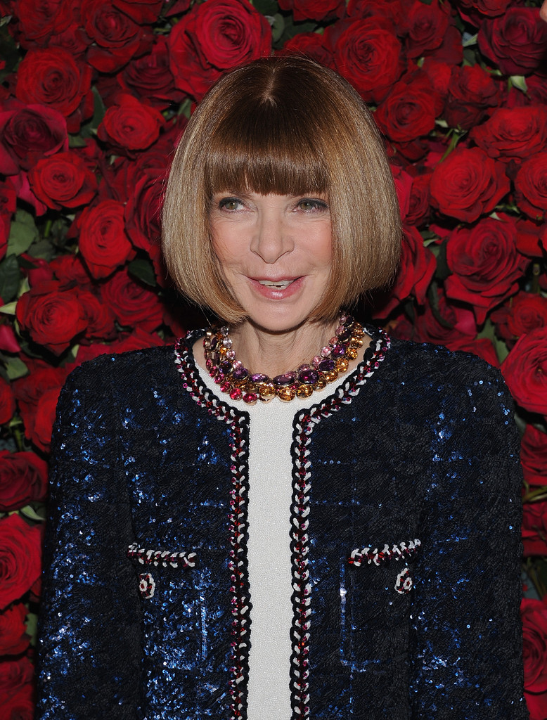 Anna Wintour Banned Ariana Grande From Wearing Ponytail: Emma Stone And Stars At MoMA