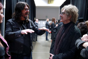 (L-R) Dave Grohl and Tom Petersson attend MusiCares Person of the Year honoring Aerosmith at West Hall at Los Angeles Convention Center on January 24, 2020 in Los Angeles, California.