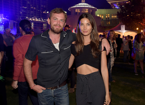 Caleb FollowillLily Aldridge And Caleb Followill 2014
