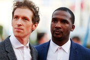 "US director and actor Daryl Wein (L) and US actor Jerod Haynes pose as they arrive for the screening of ""The Music of Silence"" on September 6, 2017 during the 43rd Deauville US Film Festival in the northwestern sea resort of Deauville... / AFP PHOTO / CHARLY TRIBALLEAU"