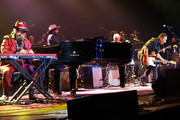 Dr. John, Kenny Aronoff, Don Was, Brian Stoltz, Ann McCrary, Regina McCrary, Deborah McCrary, and Bruce Springsteen perform during The Musical Mojo of Dr. John: A Celebration of Mac & His Music at the Saenger Theatre on May 3, 2014 in New Orleans, Louisiana.