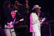 Cyrill Neville performs during The Musical Mojo of Dr. John: A Celebration of Mac & His Music at the Saenger Theatre on May 3, 2014 in New Orleans, Louisiana.
