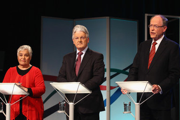 Don Brash Mutli-Party Leader Debate Takes Place In Auckland