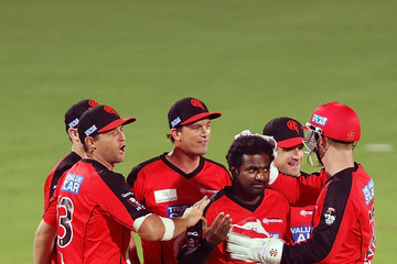 Muttiah Muralitharan Strikers v Renegades