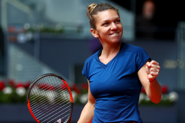 Simona Halep Achieves New Milestone On Route to Madrid Final