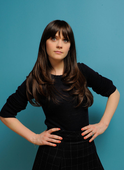 Actress Zooey Deschanel poses for a portrait during the 2011 Sundance Film Festival at The Samsung Galaxy Tab Lift on January 23, 2011 in Park City, Utah.