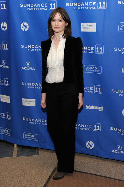 "Actress Emily Mortimer attends ""My Idiot Brother"" Premiere at the Eccles Center Theatre during the 2011 Sundance Film Festival on January 22, 2011 in Park City, Utah."