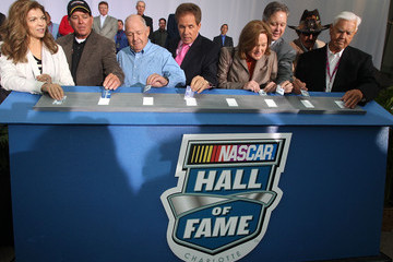 Teresa Earnhardt NASCAR Hall of Fame Grand Opening