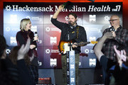 Katie Neal, Randy Houser and Jesse Addy attend NASH FM 94.7's Up Close And Country at Hackensack Meridian Health Stage 17 on January 15, 2019 in New York City.