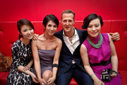 Michael Schumacher and Ruby Lin Photos Photo