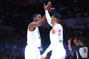 Russell Westbrook and Kevin Durant Photos Photo