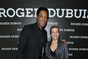 (L-R) Scottie Pippen and Dorothee Henrio attend the NBA All Star Dinner Honoring Scottie Pippen on February 15, 2018 in Bel Air, California.