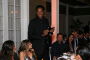 Scottie Pippen makes a toast during the NBA All Star Dinner Honoring Scottie Pippen on February 15, 2018 in Bel Air, California.