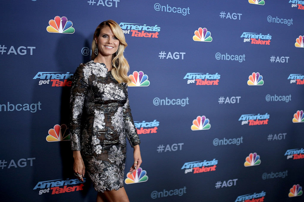 Heidi Klum attends NBC's 'America's Got Talent' Season 11 Live Show in Hollywood