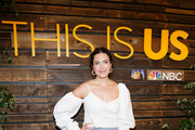 "Mandy Moore attends NBC's ""This Is Us"" Pancakes with the Pearsons at 1 Hotel West Hollywood on August 10, 2019 in West Hollywood, California."