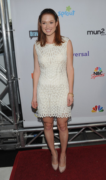 Actress Ellie Kemper arrives at the NBC Universal TCA 2011 Press Tour All-Star Party at the SLS Hotel on August 1, 2011 in Los Angeles, California.