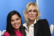 "(L-R) America Ferrera and Judith Light attend NBC And Universal Television's ""Superstore"" Academy For Your Consideration Press Line at Universal Studios Hollywood on March 05, 2019 in Universal City, California."