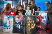 TODAY -- Pictured: Hoda Kotb, Savannah Guthrie, Al Roker and Dylan Dreyer surprise young cancer patients on Wednesday, November 29, 2017 --