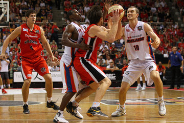 Eddie Shannon NBL Rd 19 - Wildcats v 36ers