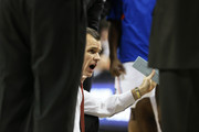 Head coach Billy Donovan of the Florida Gators talks to his team in the second half against the Minnesota Golden Gophers during the third round of the 2013 NCAA Men's Basketball Tournament at The Frank Erwin Center on March 24, 2013 in Austin, Texas.