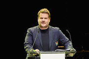 James Corden  performs onstage at NET-A-PORTER and MR PORTER partner with Letters Live on February 26, 2018 in Los Angeles, California.