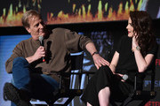 "Actors Jeff Daniels and Michelle Dockery attend #NETFLIXFYSEE For Your Consideration Event For ""Godless"" at Netflix FYSEE At Raleigh Studios on June 9, 2018 in Los Angeles, California."