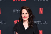 "Actress Michelle Dockery attends #NETFLIXFYSEE For Your Consideration Event For ""Godless"" at Netflix FYSEE At Raleigh Studios on June 9, 2018 in Los Angeles, California."