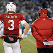 Carson Palmer and Bruce Arians Photos