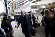 Jerry Richardson, majority owner and founder of the Carolina Panthers, arrives at the Federal Mediation and Conciliation Service building March 10, 2011 in Washington, DC.  Representatives from the National Football League (NFL) and National Football League Players' Association (NFLPA) continue to negotiate a labor dispute during a 7 day extension of talks.