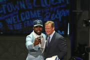 Roger Goodell Ezekiel Elliott Photos Photo