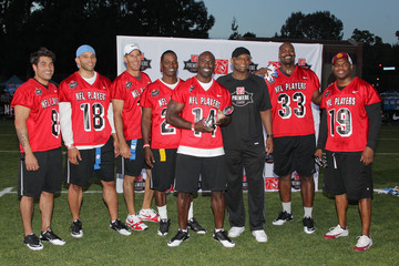 Mike Catherwood NFL PLAYERS Premiere League Flag Football Game