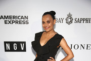 Miranda Tapsell attends the NGV Gala 2018 at National Gallery of Victoria on December 1, 2018 in Melbourne, Australia.