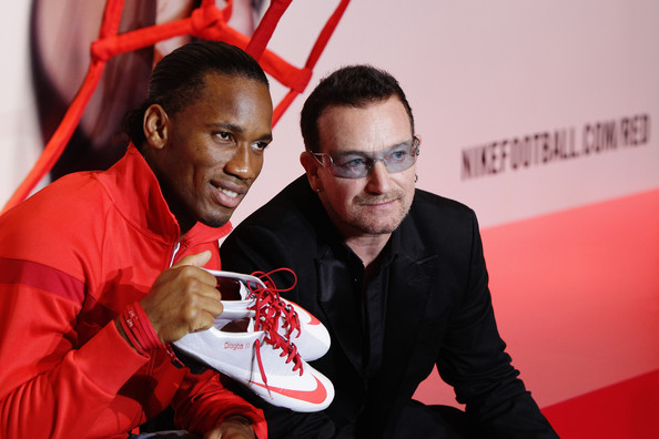 Bono in NIKE & (RED) Charity Announcement - Zimbio