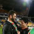 Issac Luke and Greg Inglis Photos
