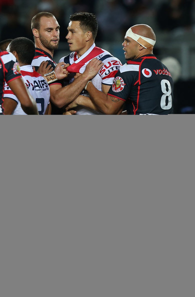 NRL Rd 2 - Warriors v Roosters