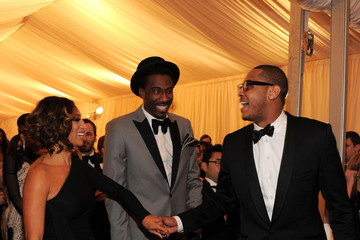 """Amare Stoudemire Carmelo Anthony NY: """"Schiaparelli And Prada: Impossible Conversations"""" Costume Institute Gala"""