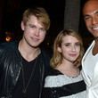 Emma Roberts and Chord Overstreet Photos