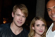 Emma Roberts and Chord Overstreet Photos Photo