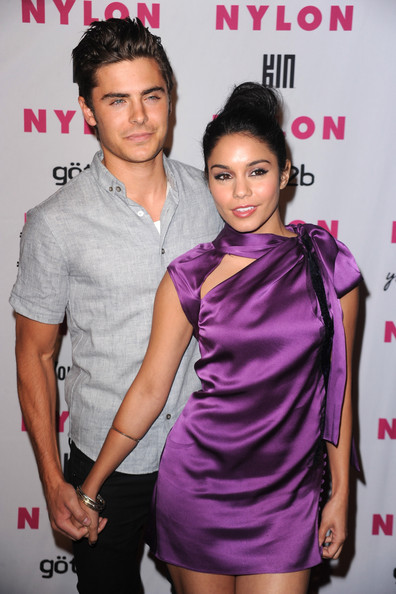 Vanessa Hudgens Actors Zac Efron and Vanessa Hudgens arrives at the NYLON & YouTube Young Hollywood Party at the Roosevelt Hotel on May 12, 2010 in Hollywood, California.