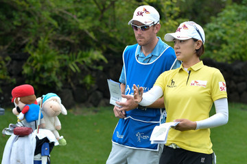 Na Yeon Choi Blue Bay LPGA - Day 1