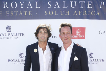 Nacho Figueras Sentebale Royal Salute Polo Cup in Cape Town with Prince Harry - Red Carpet