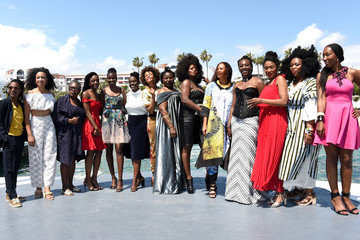 Nadege Beausson-Diagne 'My Profession Is Not Black' Photocall - The 71st Annual Cannes Film Festival