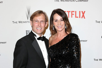 Nadia Comaneci Bart Conner Weinstein Company and Netflix Golden Globes Party