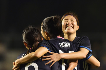 Nahomi Kawasumi Vietnam v Japan - AFC Women's Olympic Final Qualification Round
