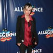Nana Visitor 'Allegiance' Broadway Opening Night - Arrivals & Curtain Call