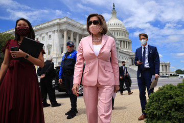 Nancy Pelosi European Best Pictures Of The Day - May 13