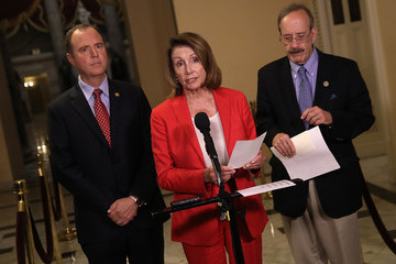 Nancy Pelosi Democratic Leader Pelosi And Reps. Engel And Schiff Introduce Resolution Condemning Trump's Statements In Helsinki