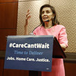 Nancy Pelosi Advocates Welcome Back Congress At DC Rally By Calling For Urgent Focus On Caregiving