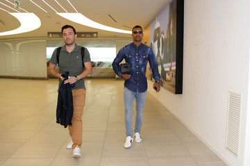 Nani SS Lazio New Signing Nani Arrives In Rome